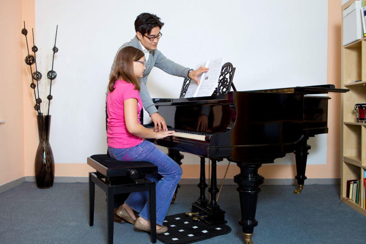 Unterricht an der Klavierschule David Kim