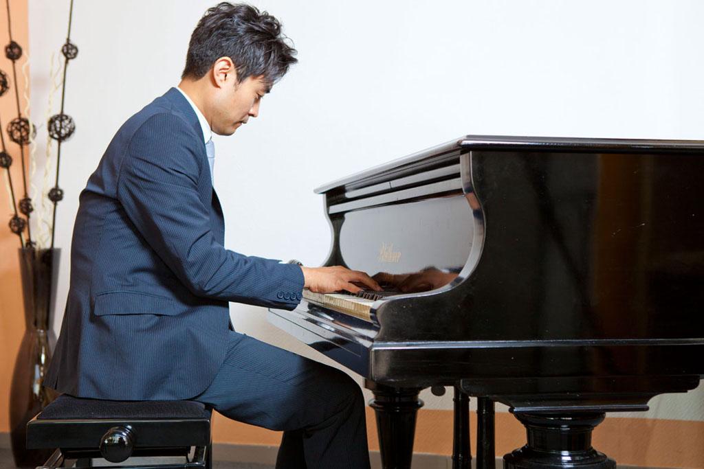 David Kim - Pianist und Leiter der Musikschule Kim