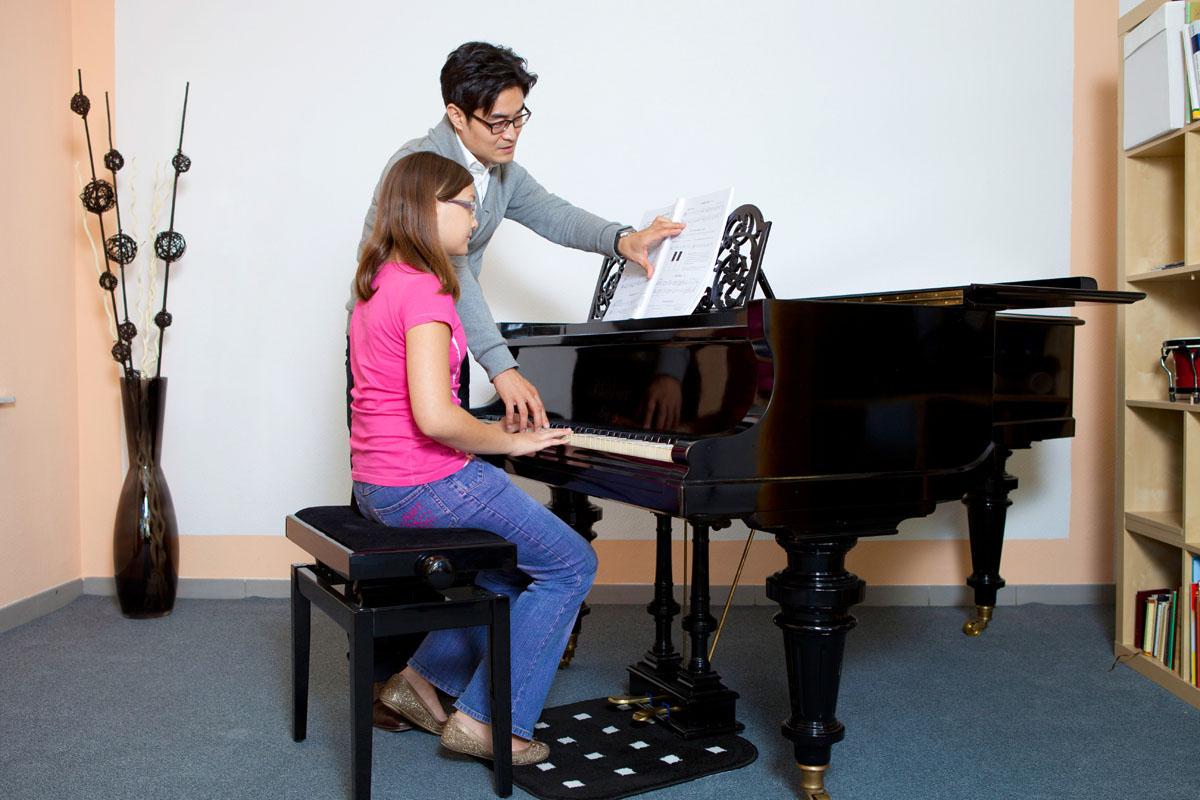 Klavier- und Keyboardunterricht in der Musikschule David Kim